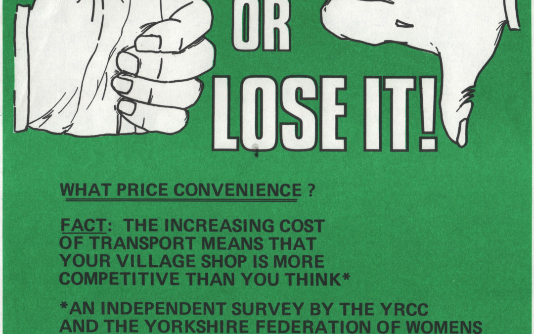 Campaign to use the local shop – c1981