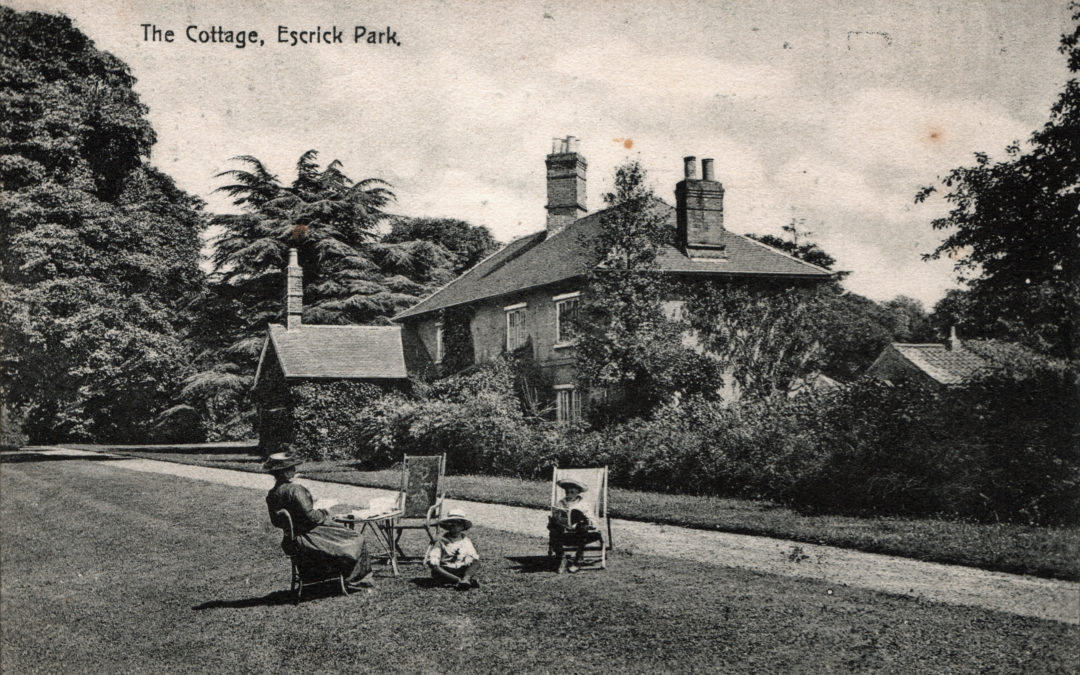 Postcard of The Cottage – Escrick Park