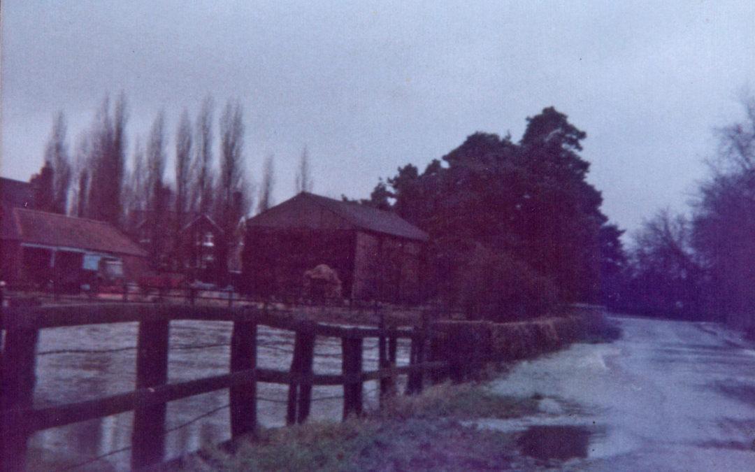 Escrick Flood – Carr Lane 29 December 1978