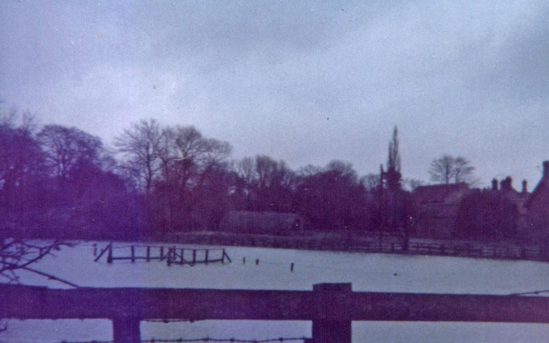 Escrick Flood – Roys Field (now village green) 29 December 1978