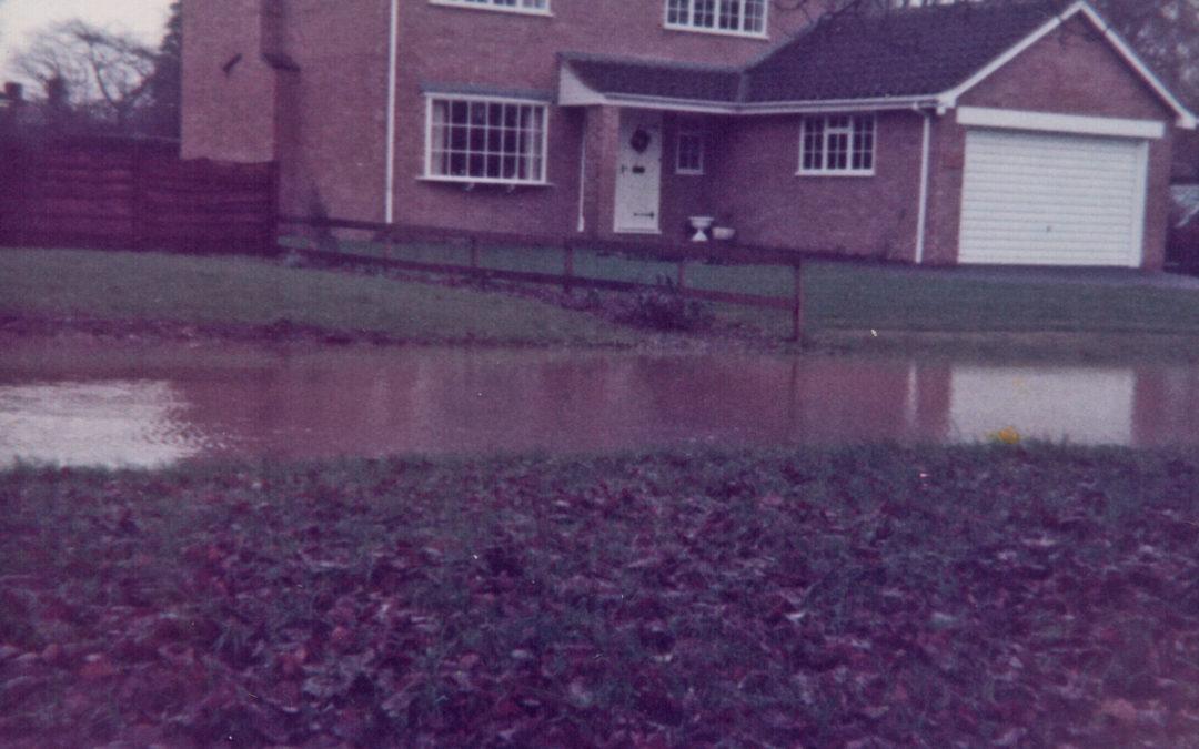 Escrick Flood – The Glade 29 December 1978