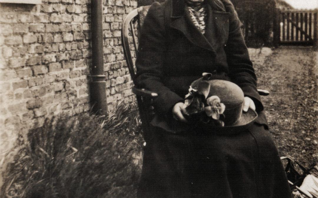 Elizabeth Tomlinson as Mrs Marples – Forbs Adam Drama Group 1929