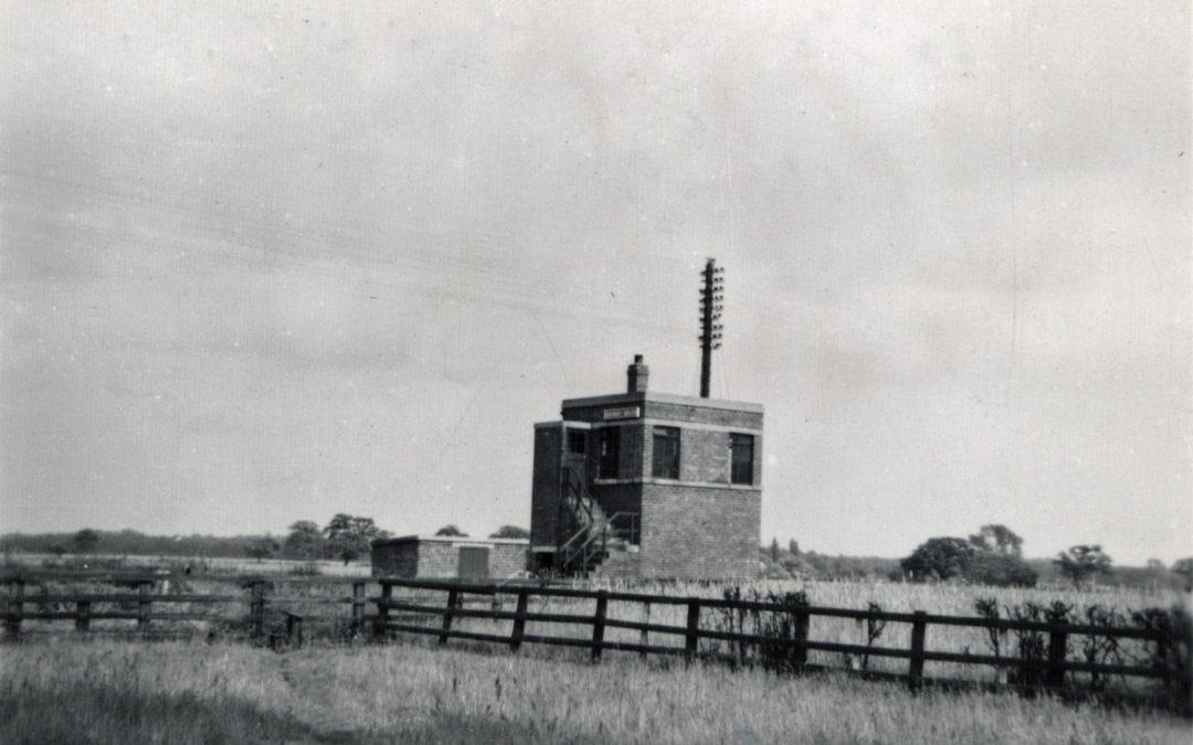Signal Box at Escrick South – Mount Farm Siding 1949