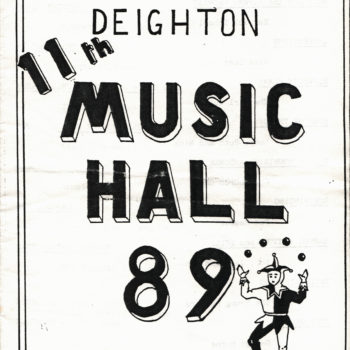 Escrick & Deighton Music Hall Performance 1989