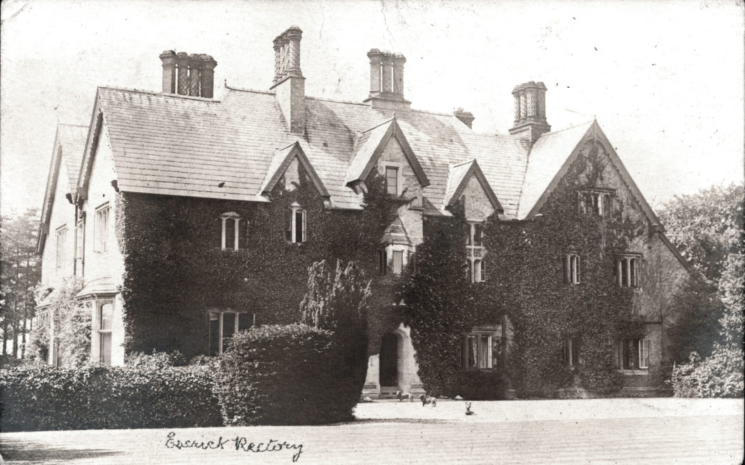 Postcard of Escrick Rectory  (Now the Parsonage Hotel) – 1905