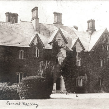 Postcard, St Helens, Rectory, Vicarage