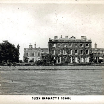 Postcard of Queen Margaret's School 1965 (Formerly Escrick Hall)