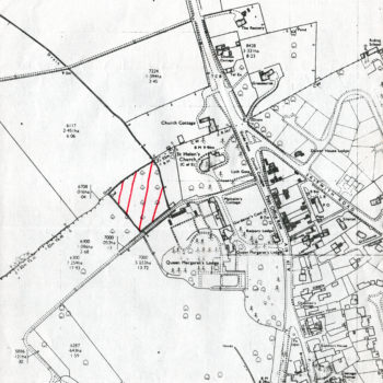 Map of proposed new Surgery at Escrick - 25 April 1980