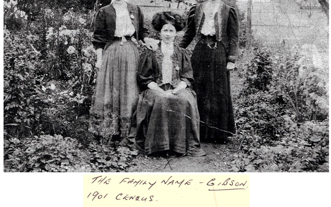 The Gibson Family – 1901