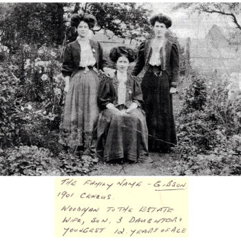 The Gibson Family - 1901