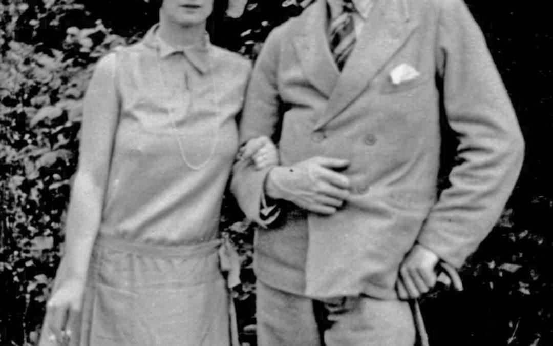 Violet Digweed & Sonny Burningham – Escrick c1930's